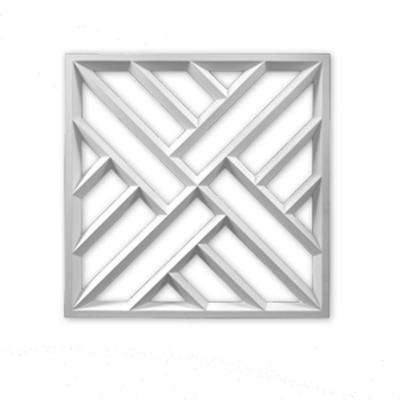 27-3/4 in. x 27-3/4 in. x 1-1/2 in. Polyurethane Crosshatch Decorative Panel
