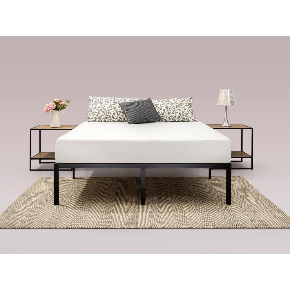 Modern Studio 14 in. Full Platform Bed Frame