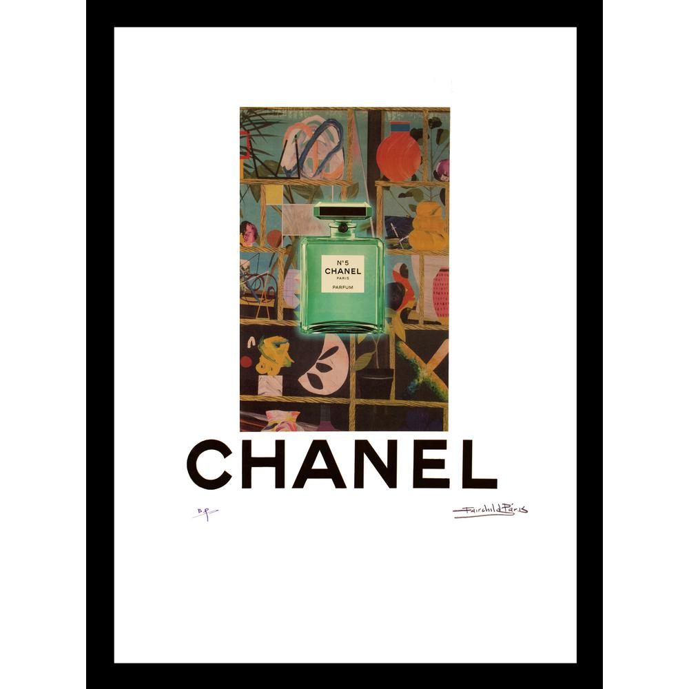 Luxewest 20 In X 16 In Karstadt Vintage Chanel Ad By Fairchild