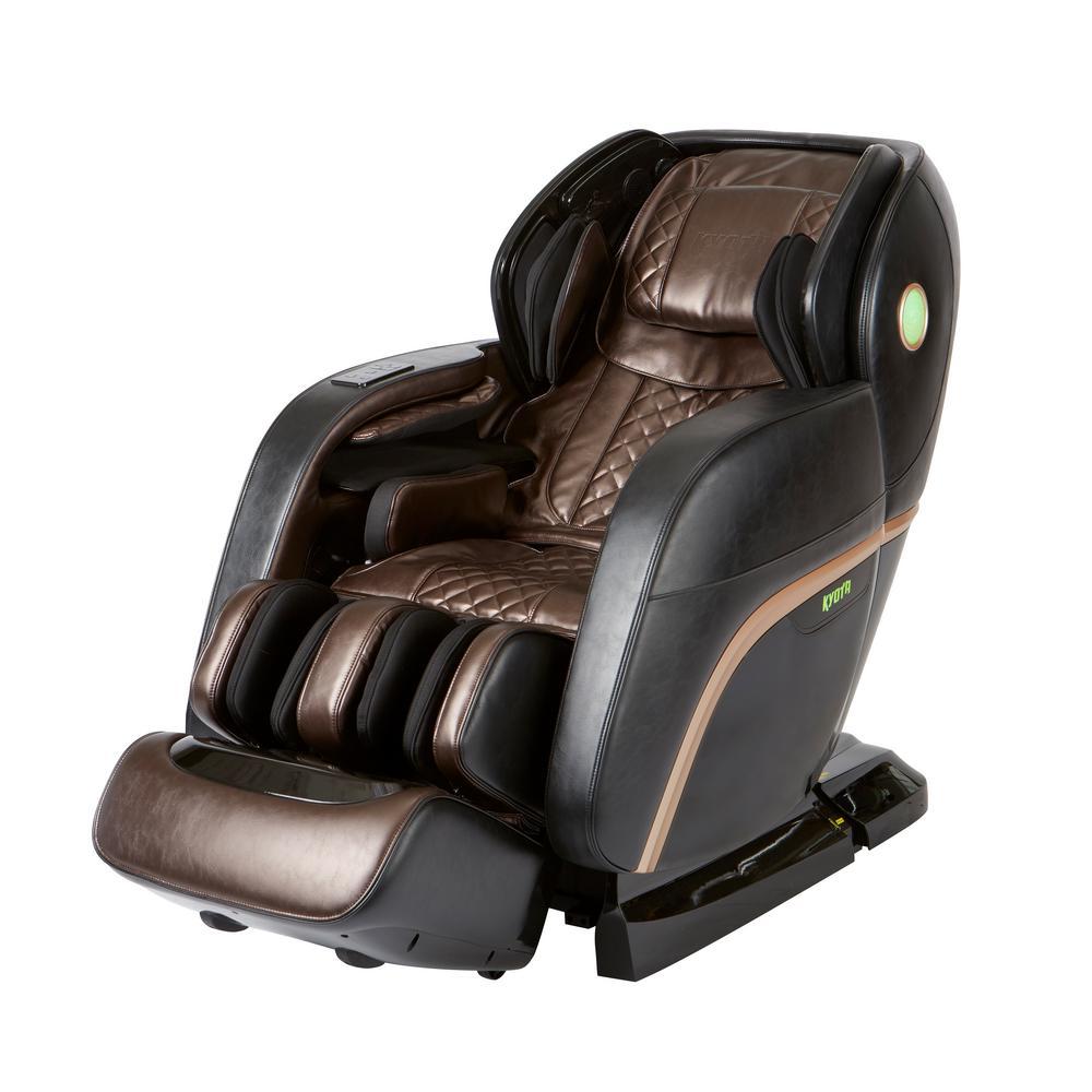 Infinity Kyota Black M888 Kokoro 4D Full Body Massage Chair 18700214 - The Home Depot