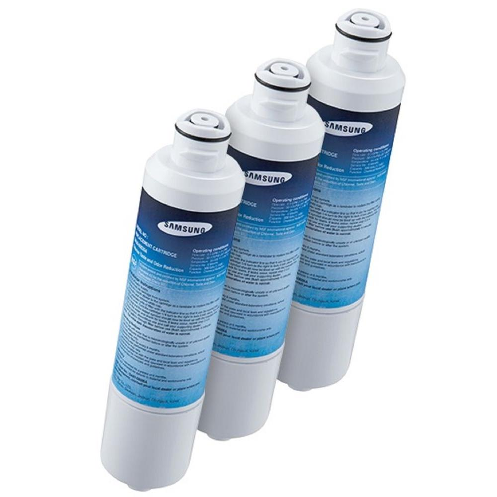 Samsung Refrigerator Water Filter (3-Pack)-HAF-CIN-3P - The Home Depot