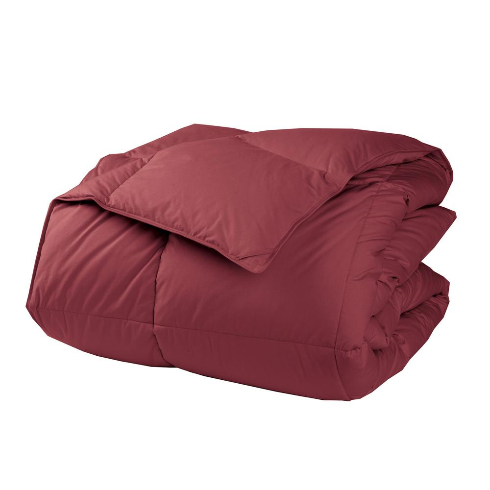 LaCrosse LoftAIRE Extra Warmth Chianti Queen Down Alternative Comforter