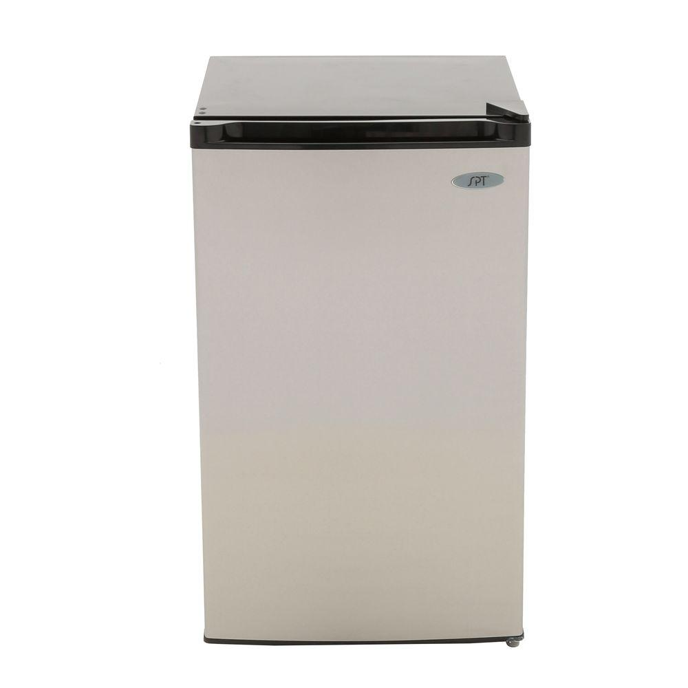 SPT 4.4 cu. ft. Mini Refrigerator in Stainless Steel, ENERGY STAR