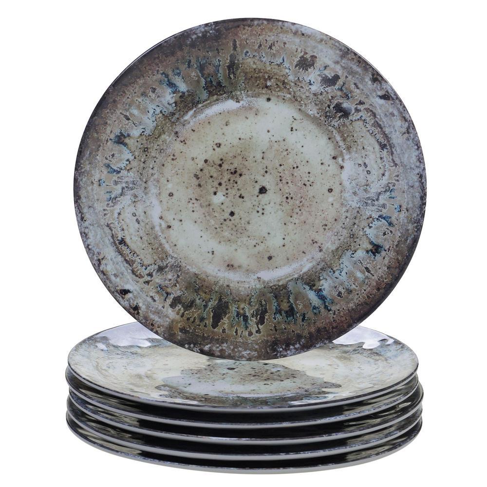 Certified International Radiance Multicolor Dinner Plate (Set of 6) 23950SET6