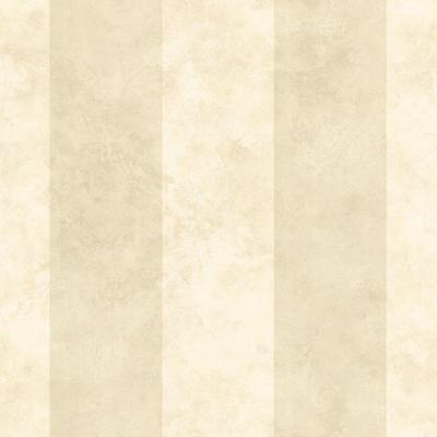 Stonington Cream Awning Stripe Wallpaper