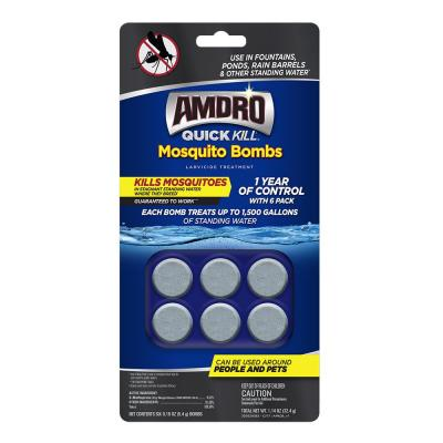 Quick Kill Mosquito Bombs (6-Pack)