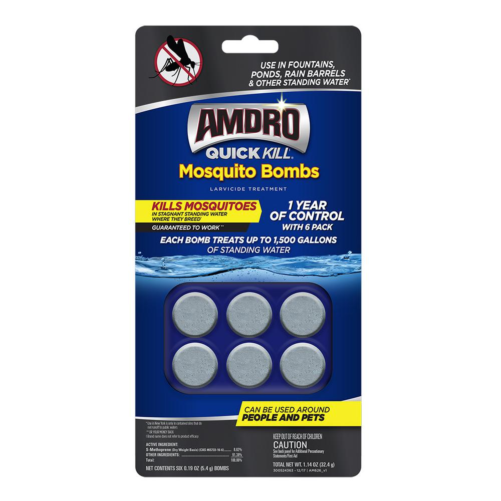 AMDRO Quick Kill Mosquito Bombs (6-Pack)