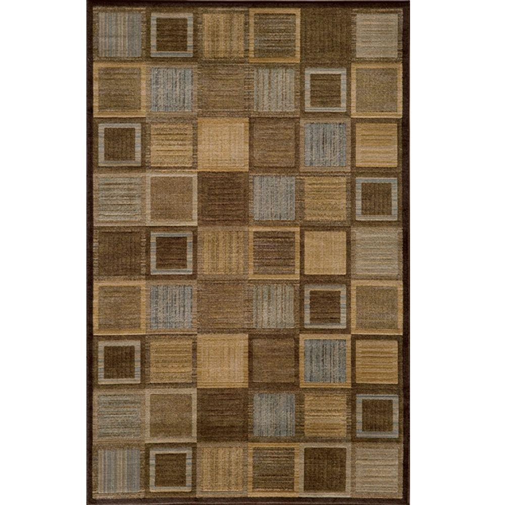 Momeni Marvelous Brown 7 Ft 10 In X 9 Indoor Area Rug Dreamdr 07brn7a9a The Home Depot