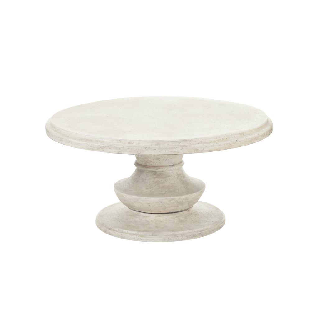 Hampton Bay Belleville Tile Top Patio Coffee Table Fts80721 The Home Depot