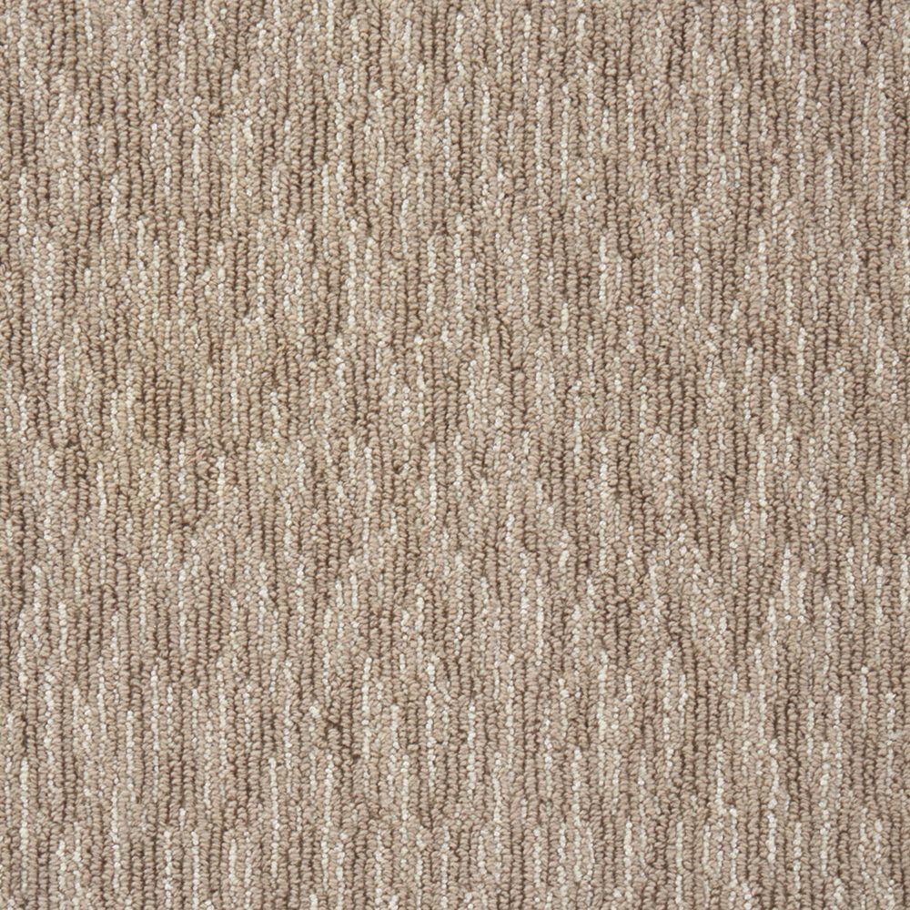 Oceanic Tweed - Color Sparrow Loop 12 ft. Carpet