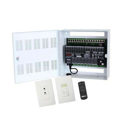 Hi-Fi 2 8-Zone, 8-Source Distributed Audio System in Enclosure