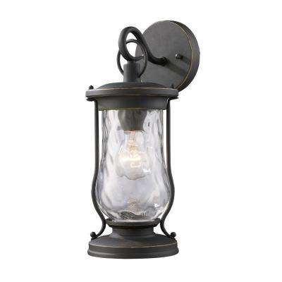 Farmstead Outdoor Matte Black Wall Sconce