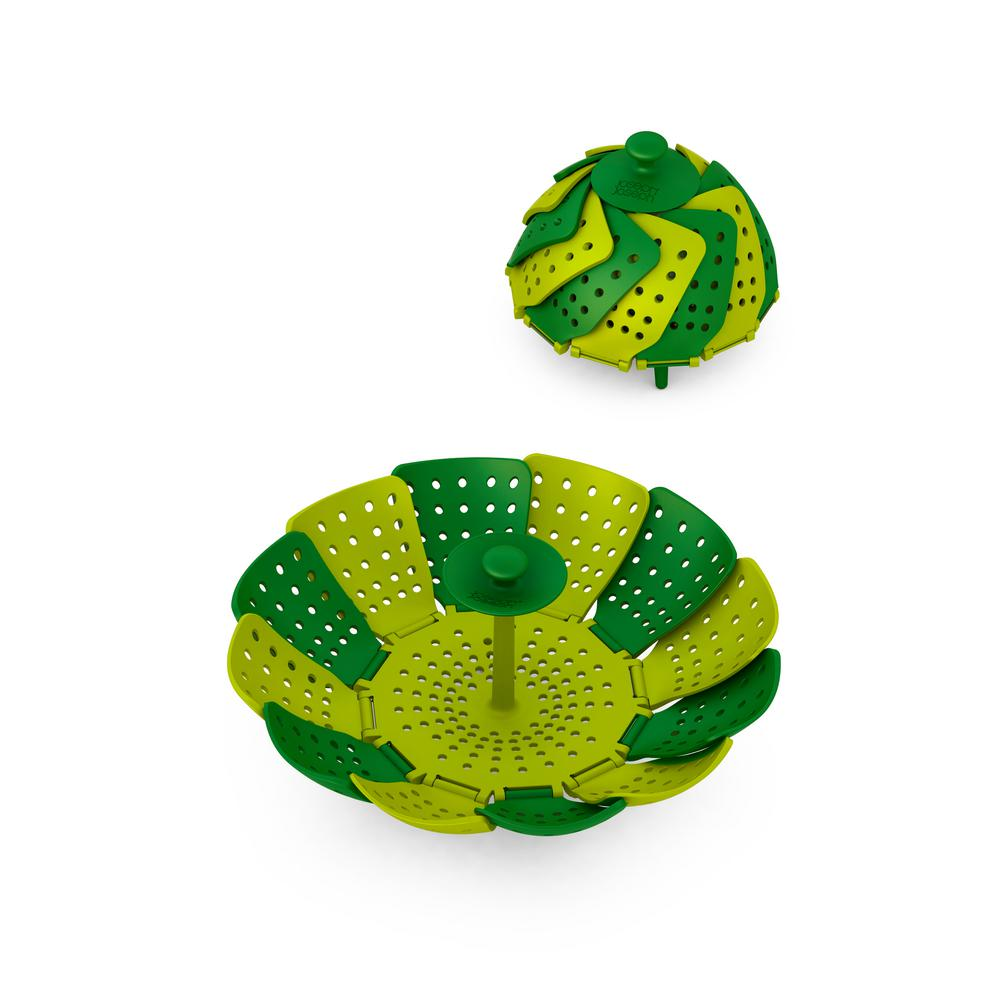 Lotus Plus Non-Scratch Folding Steamer Basket