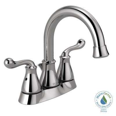 Southlake 4 in. Centerset 2-Handle Bathroom Faucet in Chrome