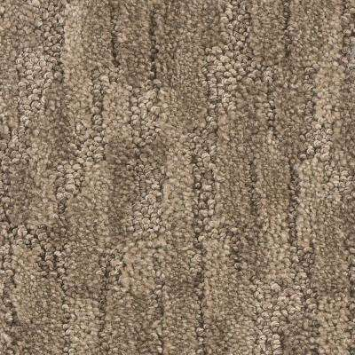 Carpet Sample - Top End - Color Twirl Pattern 8 in. x 8 in.