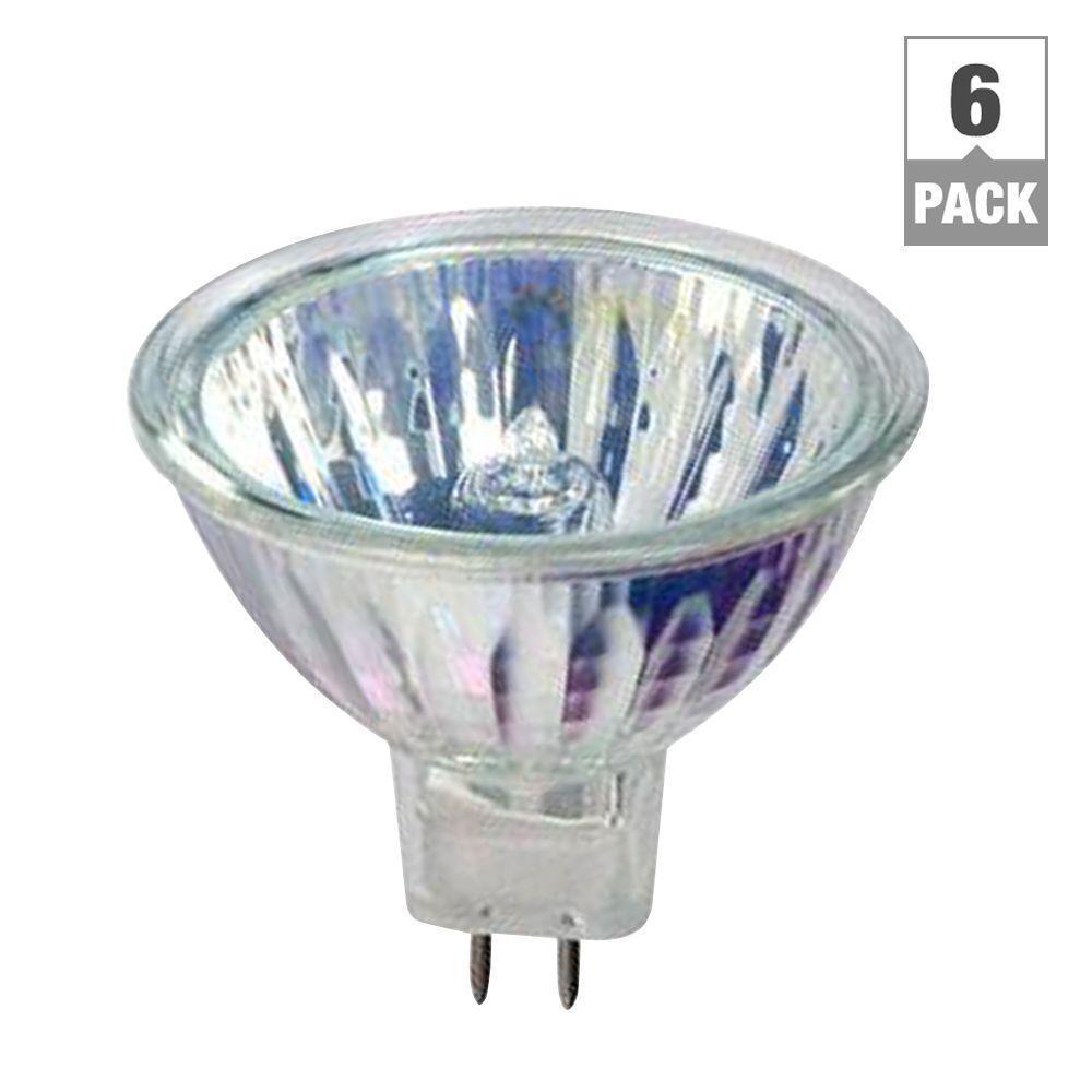 50-Watt MR16 Halogen Light Bulb (6-Pack)