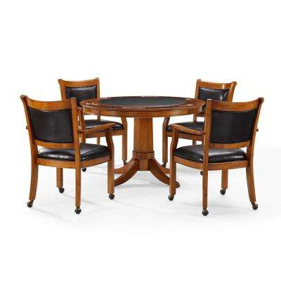 Reynolds 5-Piece Dutch Colonial Game Table Set