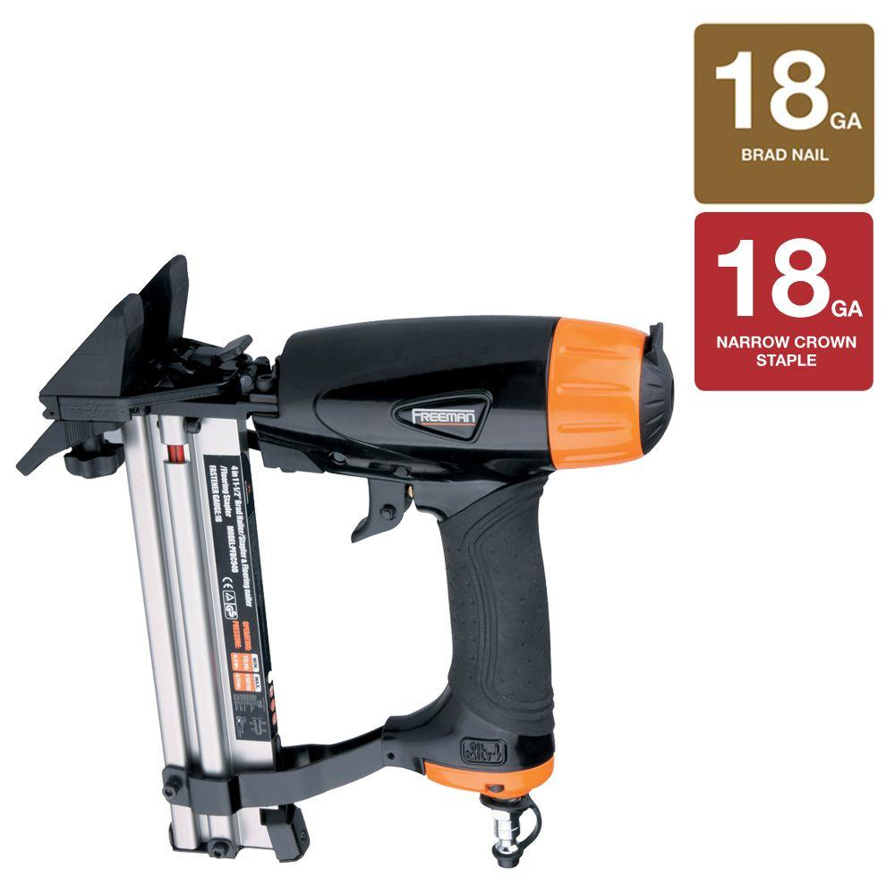 Pneumatic 4-in-1 Mini Flooring Nailer and Stapler