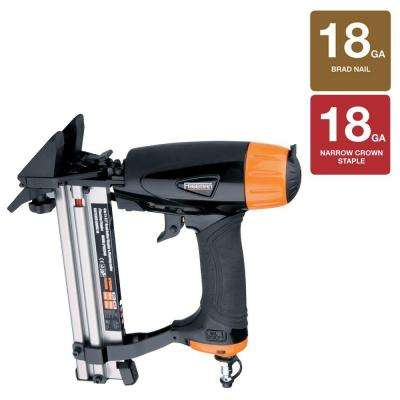 18-Gauge Pneumatic 4-in-1 Mini Flooring Nailer and Stapler