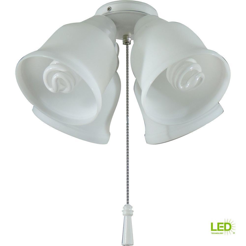Gazelle LED Ceiling Fan Light Kit MW