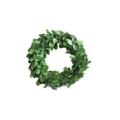 Round 6 in. Boxwood Wreath