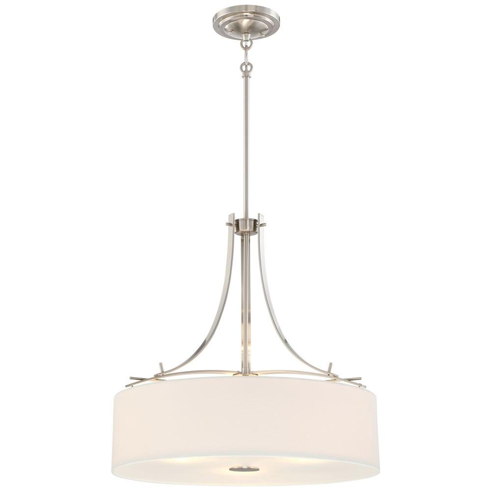 Minka lavery poleis 3 light brushed nickel pendant 3308 84 the minka lavery poleis 3 light brushed nickel pendant aloadofball Gallery