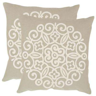 Joanna Embroidered Pillow (2-Pack)