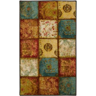 Artifact Panel Multi 1 ft. 8 in. x 2 ft. 10 in. Accent Rug