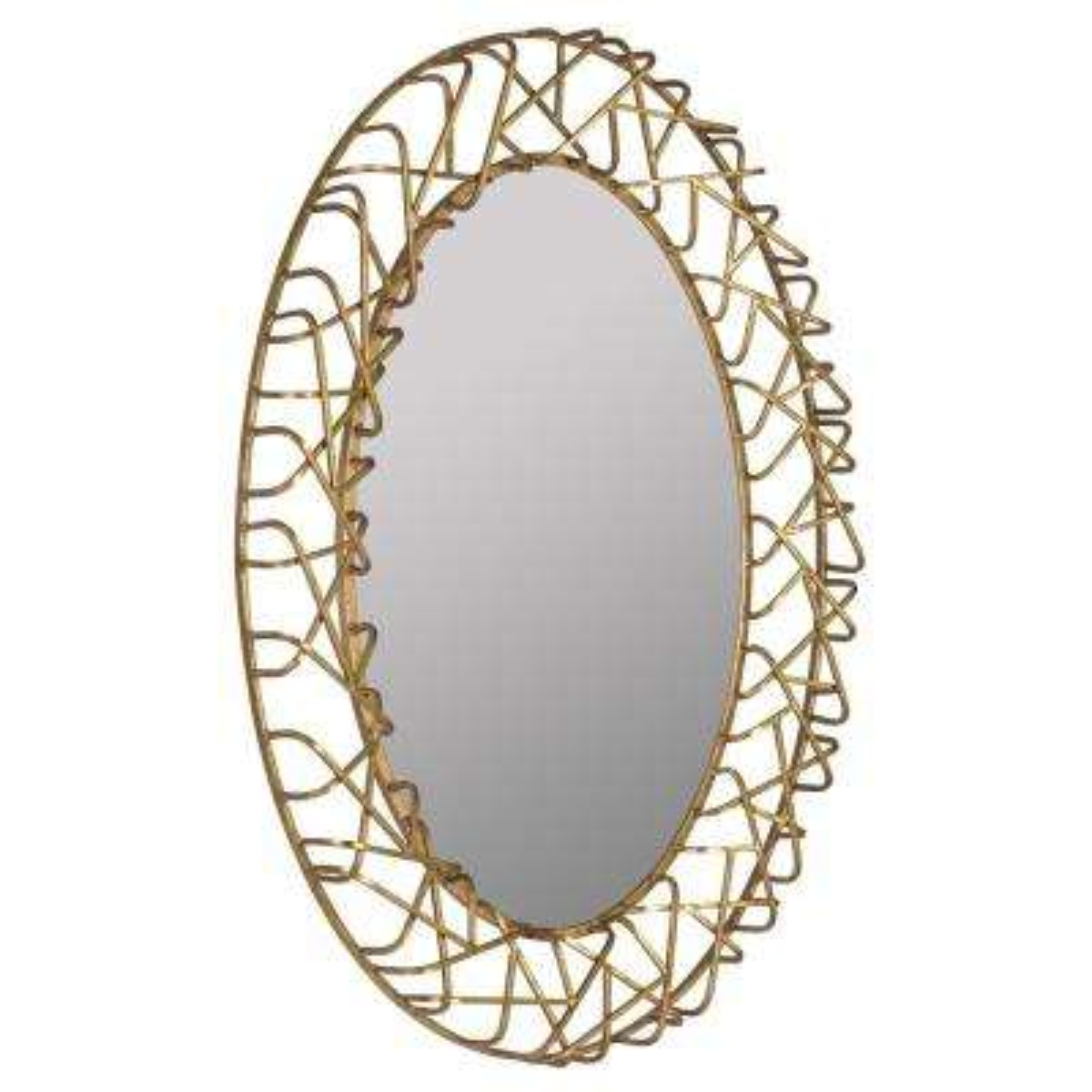 Ashlee Gold Decorative Mirror