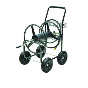 Click here to buy Precision 350 ft. Hose Reel Cart by Precision.