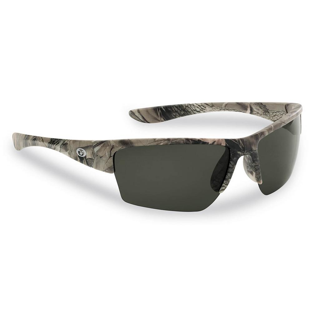 0dd54db4fa5a Flying Fisherman Glades Polarized Sunglasses Matte Camo Frame with Smoke  Lens