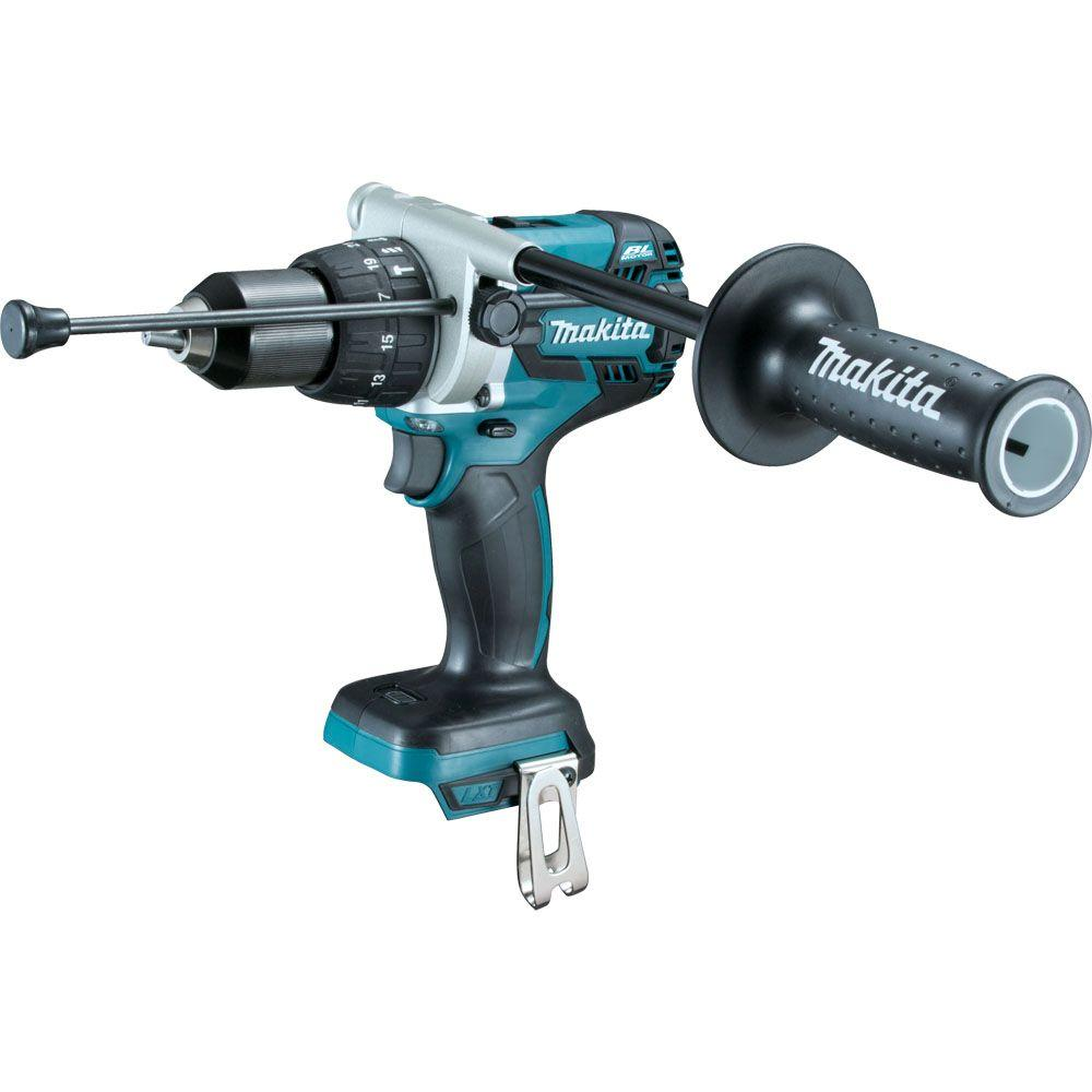 Makita 18-Volt LXT Lithium-Ion Brushless Cordless 1/2 in. XPT Hammer Drill/Driver (Tool-Only)