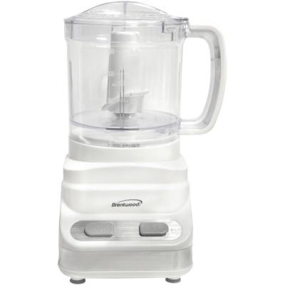 3-Cup 2-Speed White Food Processor