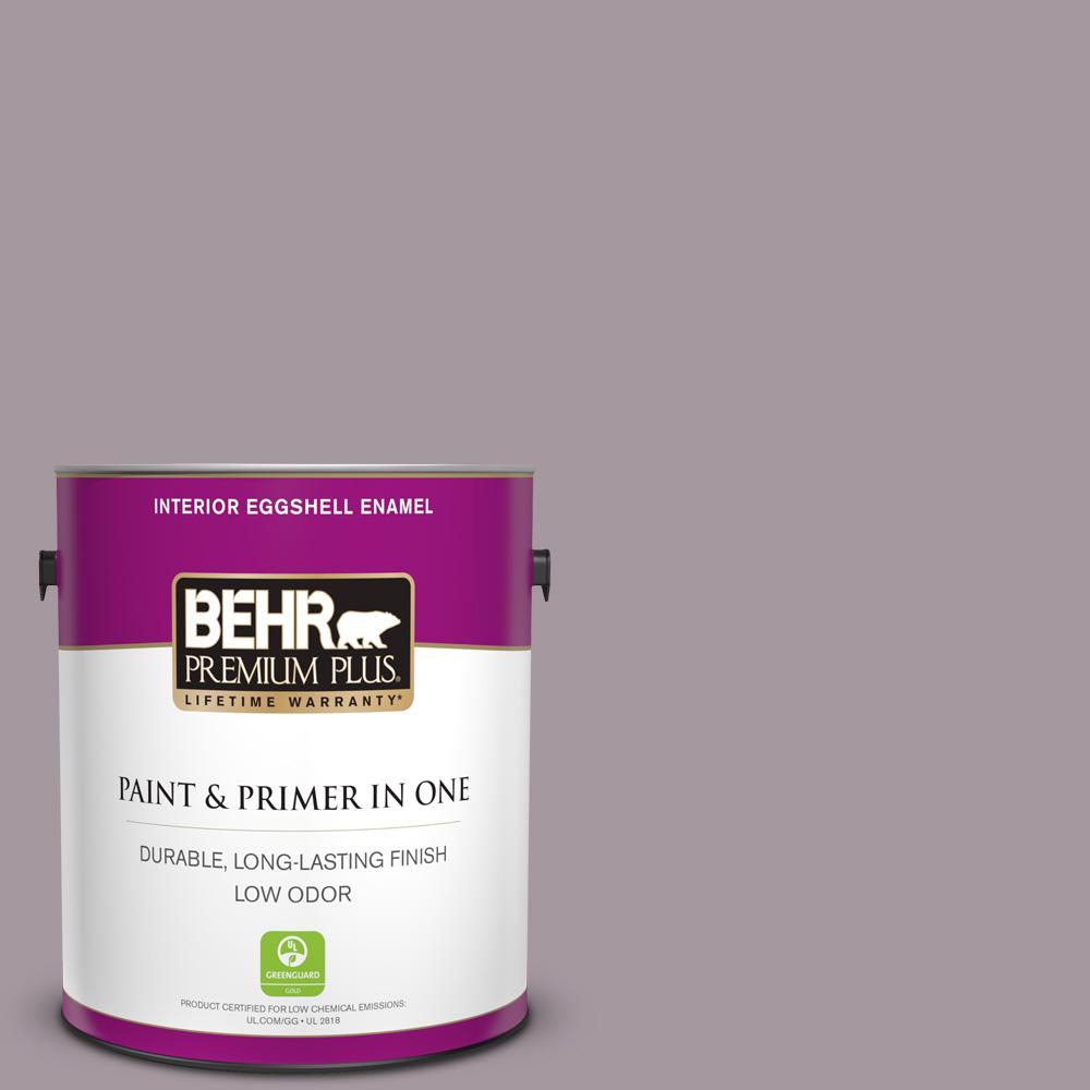 Reviews For Behr Premium Plus 1 Gal N110 3 Fig Preserves Eggshell Enamel Low Odor Interior Paint And Primer In One 240001 The Home Depot