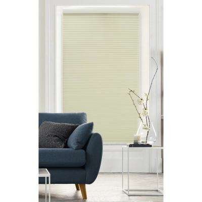 Cut-to-Size Alabaster White Cordless Light Filtering Cellular Shade (Actual Size 45.5 in. W x 72 in. L)