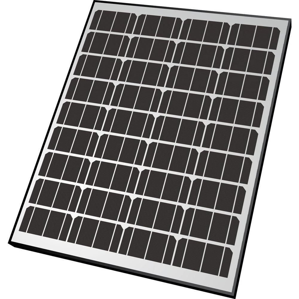 Nature Power 85-Watt Monocrystalline Solar Panel for 12-Volt Charging