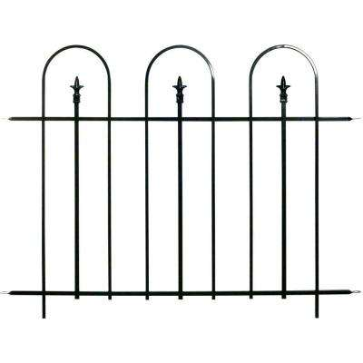 48 in. Wide Steel Garden Fence Panel (8-Panels per Case/384 linear inches total)