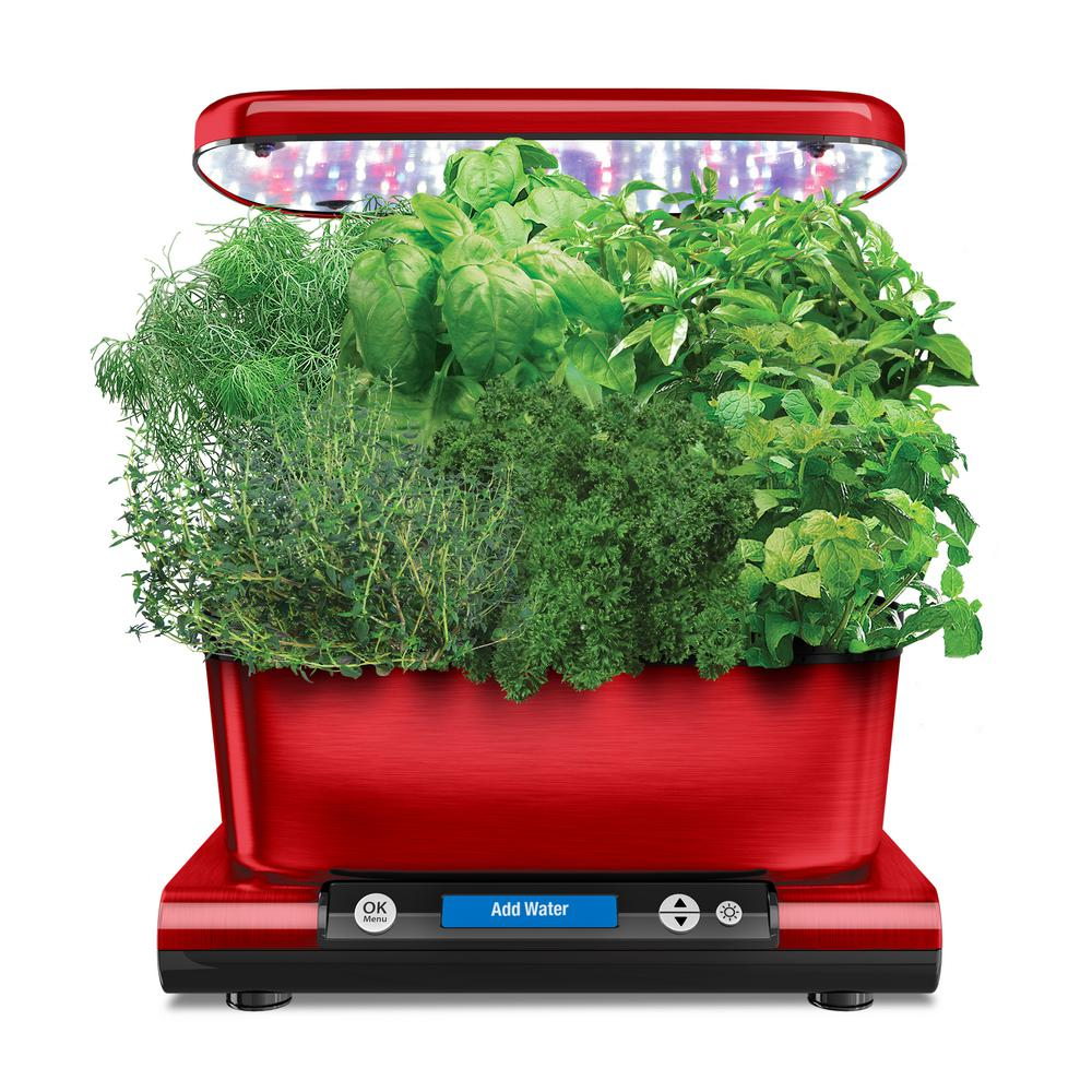 AeroGarden Harvest Elite with Gourmet Herb Seed Pod Kit i...