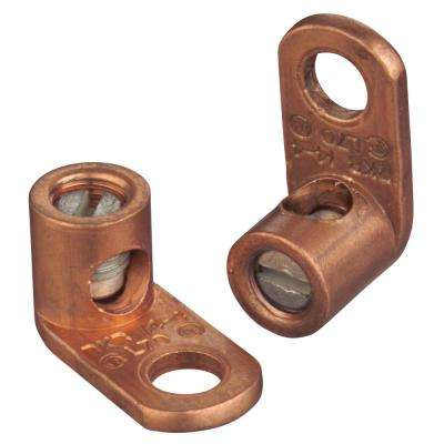 Copper Mechanical Connector #4 Stranded to #14 Solid Wire (10 Pieces)
