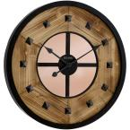 24 in. H x 24 in. W Round Wall Clock