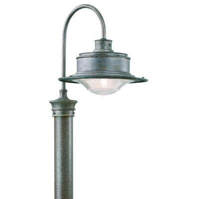 South Street Outdoor Old Galvanized Post Light