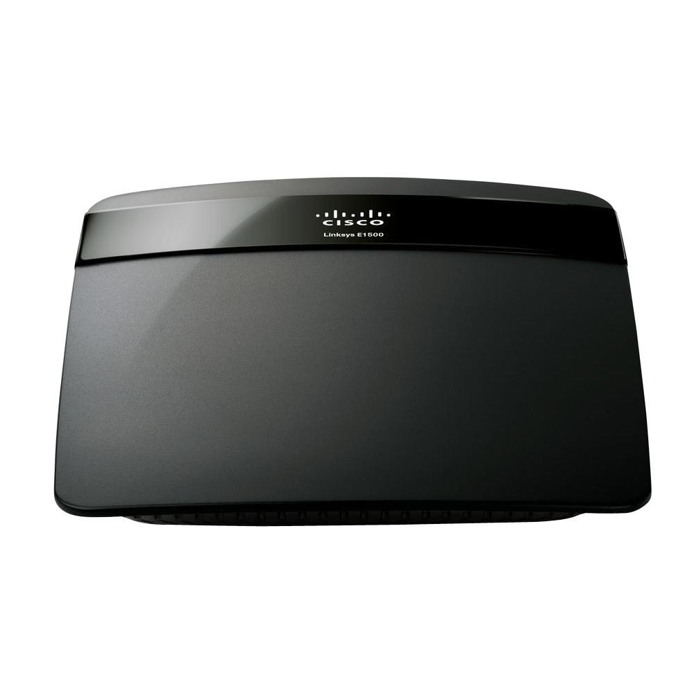 Linksys Wireless-N Router SpeedBoost-E1500 - The Home Depot