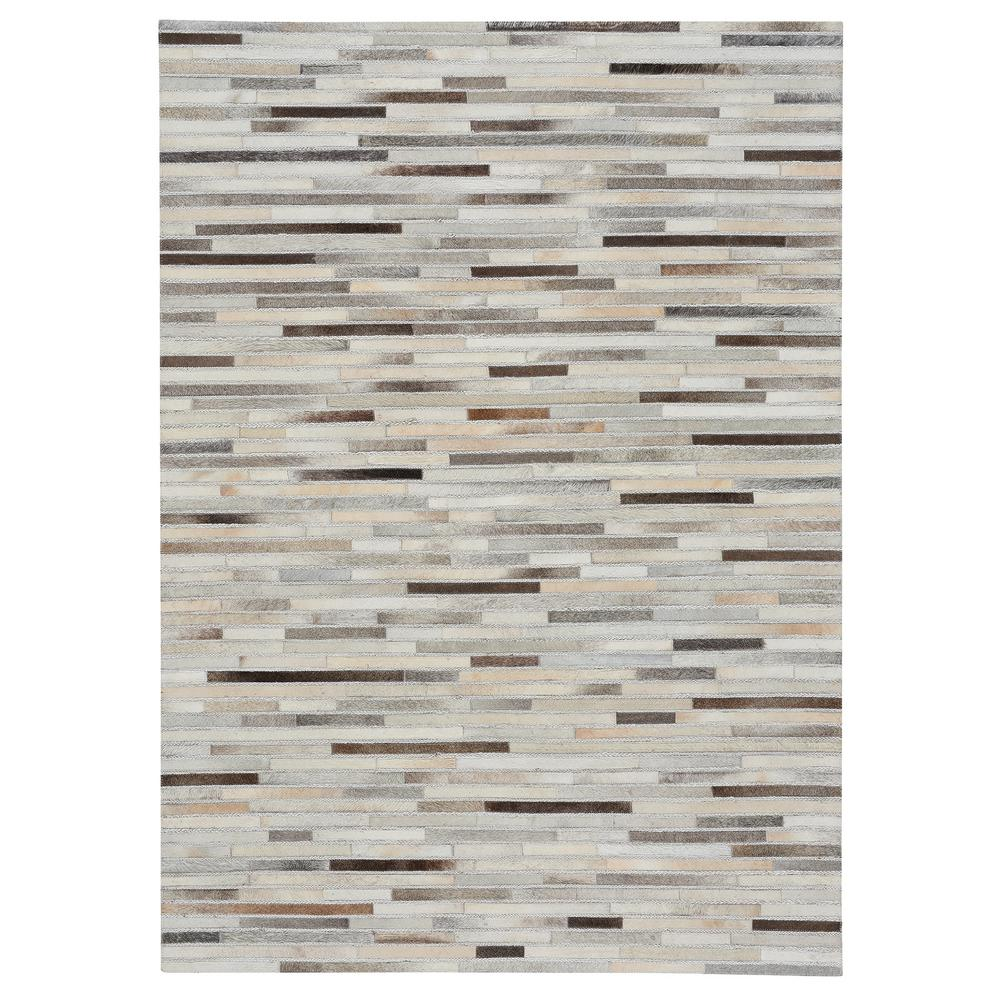 Capel Butte Braided Stripe Ash Multi 8 ft. x 10 ft. Area Rug Capel Butte Braided Stripe Ash Multi 8 ft. x 10 ft. Area Rug