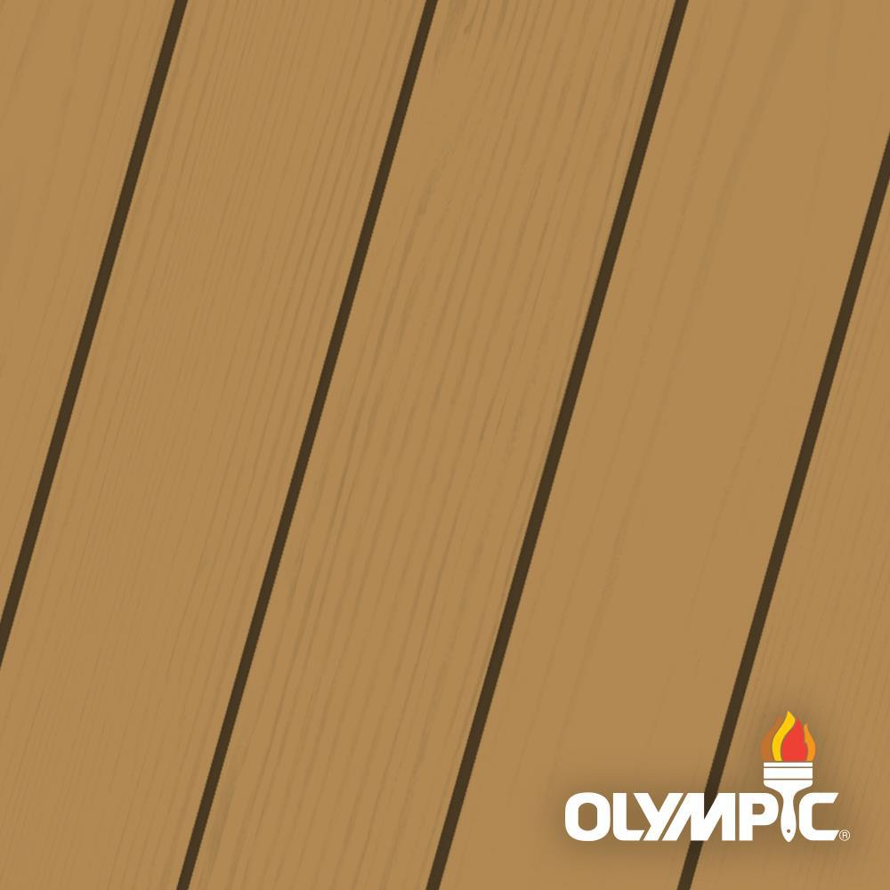 Olympic Maximum 5 gal. Cedar Solid Color Exterior Stain and Sealant in One