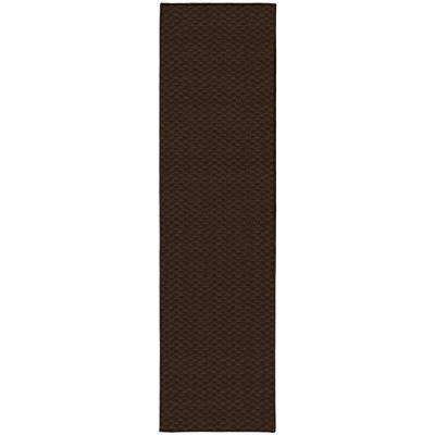 Medallion 3 Ft. x 12 Ft. Area Rug Runner Chocolate