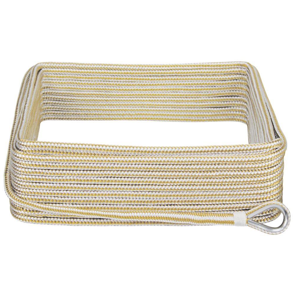 3/8 in. x 100 ft. BoatTector Double Braid Nylon Anchor Line