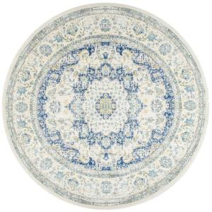 Verona Vintage Persian Blue 8 ft. Round Rug