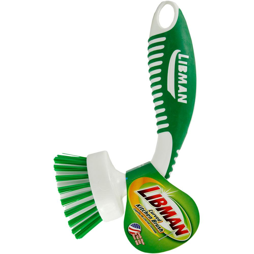 Libman Curved Kitchen Brush