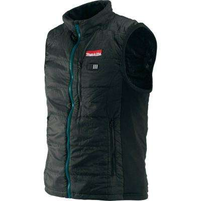 Men's X-Large Black 18-Volt LXT Lithium-Ion Cordless Heated Vest (Jacket Only)
