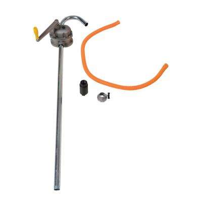 Rotary Manual Aluminum Drum Pump with 2 in. Bung